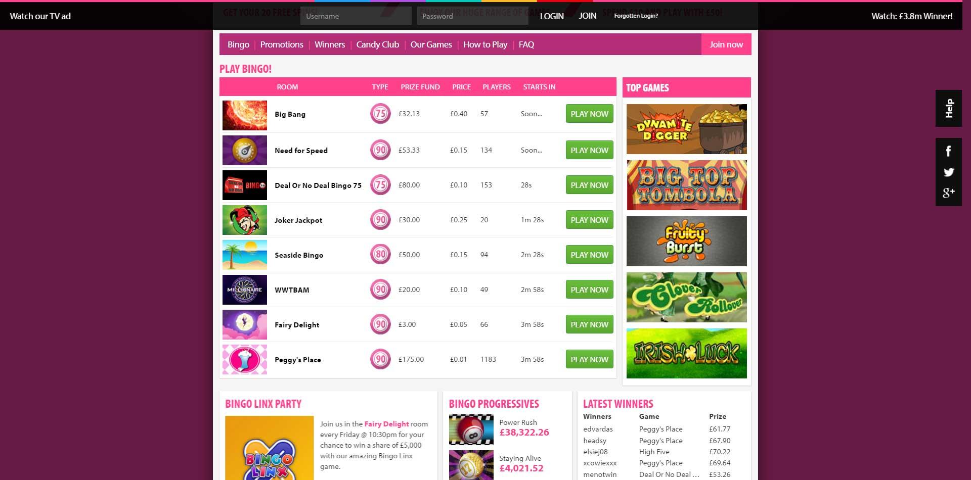 BGO Casino Review - £100 deposit bonus and 20 free spins