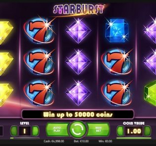 Starburst slot casinopeep